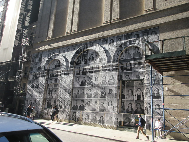 2019 Photo Mural on 45th St Jake Gyllenhaal Play Sea Wall / A Life on Broadway 1772