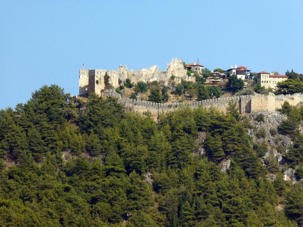 Древняя крепость Аланьи