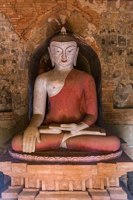 Ancient Buddha, Bagan Myanmar