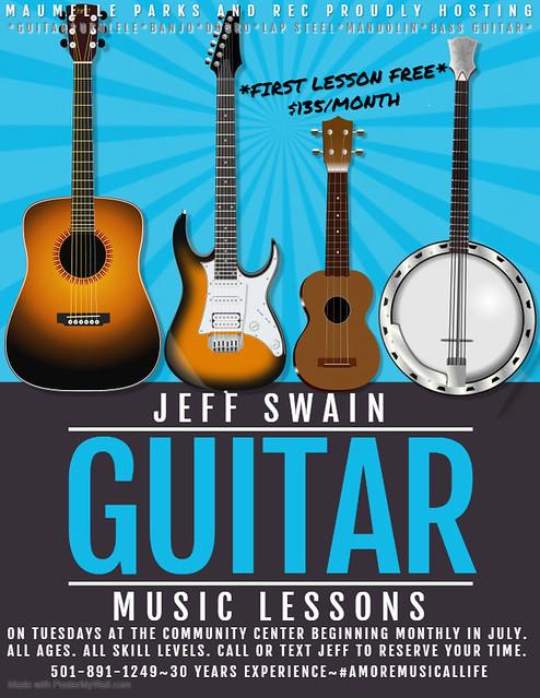JEFF SWAIN MUSIC LESSONS
