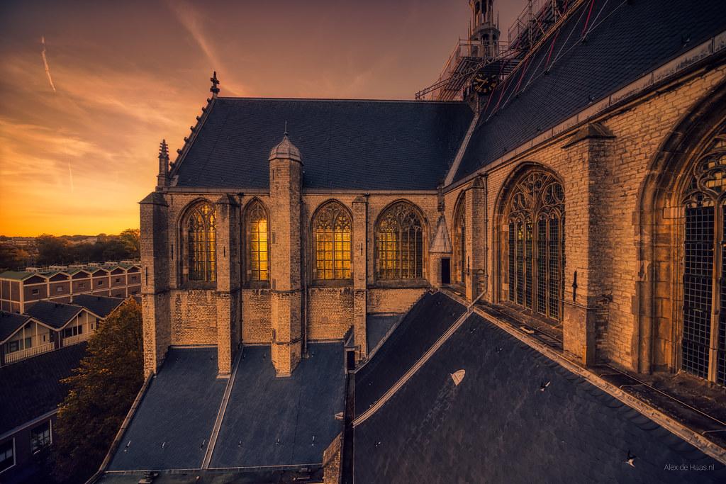 The Big Church of the city of Alkmaar.