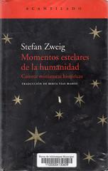 Stefan Zweig, Momentos estelares de la humanidad