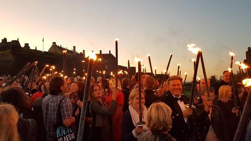 Bloody Scotland torches