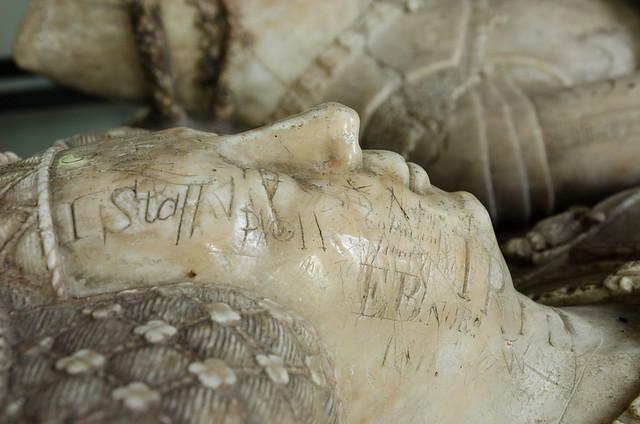 Ancient Graffiti, Ashwellthorpe Church