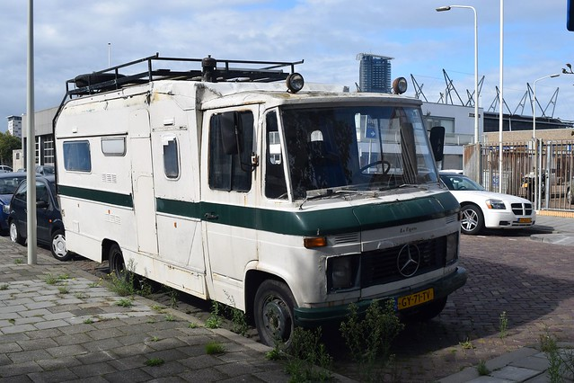 Hanomag-Henschel F40 KA Kampeerauto 1971