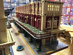 32_Train Station Building 2 details process