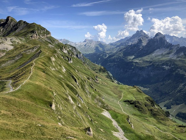 Hiking in the Bernese Alps