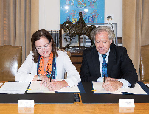 The OAS and El Salvador Create International Commission Against Impunity (CICIES)