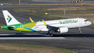 SalamAir A320-251N msn 9197