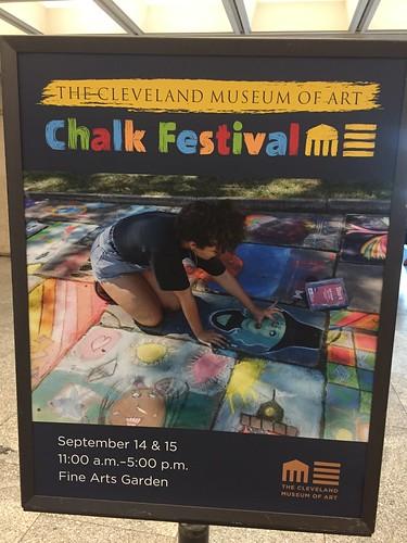 September 15, 2019 - 30th Annual Chalk Festival Cleveland Museum of Art
