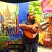 Guitarist at Juan's Cafe, San Miguel de Allende, Mexico, Aug. 24, 2019