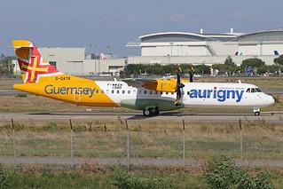 F-WWEN ATR72 200919 TLS (G-OATR - cn1580)