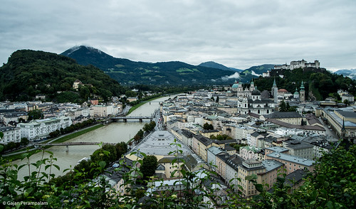 Salzburg and Salzach River | by Gajan Perampalam