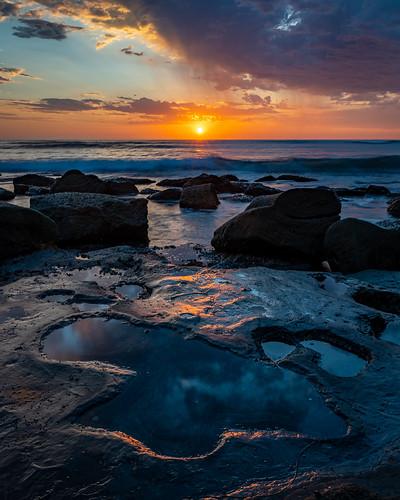 outside california sandiego beach sunset reflection clouds ocean landscape sonya6500 water sunsetcliffs nature sigma