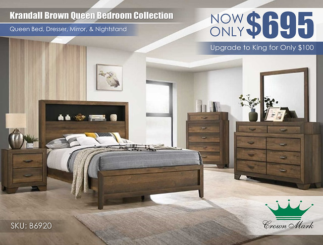 Krandall Bedroom Collection_B6920
