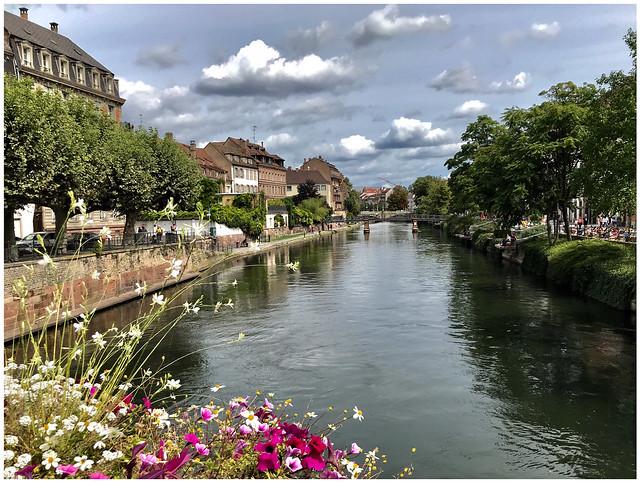 Sur les quais de l'Ill - Strasbourg