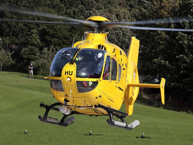Eurocopter EC135 T2+ G-SPHU Scottish Ambulance Service (Babcock)