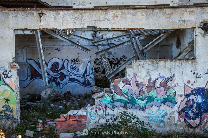 Almacén abandonado en el camino de la ermita de Sant Pere de Tordera