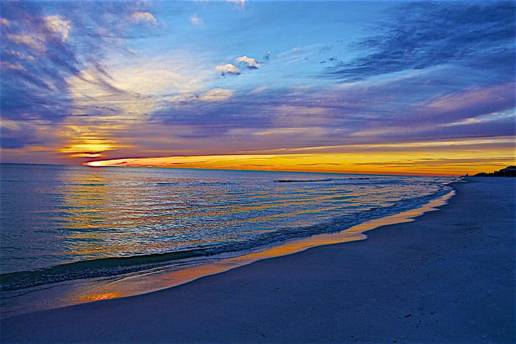 Sunset At Rosemary Beach, FL