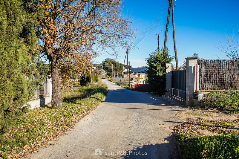 Camino de la ermita de Sant Pere de Tordera
