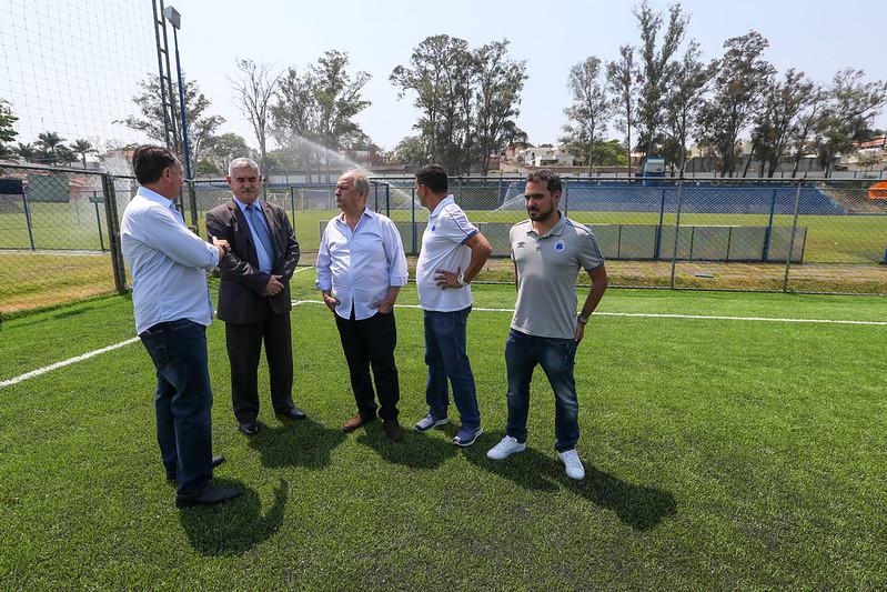 Visita ao Cruzeiro Esporte Clube (Toca da Raposa I)