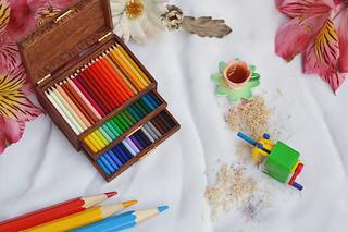 Three-Layer Artist Luxury Pencil Box_b