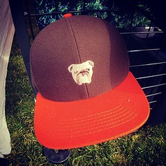 I wish I would have bought this sweet @legendheadwear @clevelandbrowns ballcap at last weekend's @thecityflea. #dawgpound #hatregrets #nexttimemaybe #seizethedey