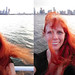 20180814 1924 - Carolyn's New York trip - Carolyn selfie on the harbor - 34241911-diptych-29