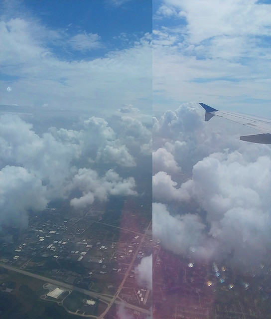 20180815 1406 - Carolyn's New York trip - on the plane - cool clouds - 00061412-diptych-08061478r