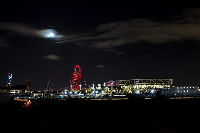 Moonlight over Westham