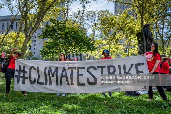 250,000 joined the Global Climate Strike in New York City