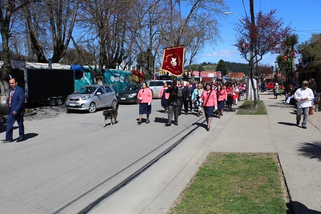 Desfile anual Iglesias de Coelemu y Guarilihue