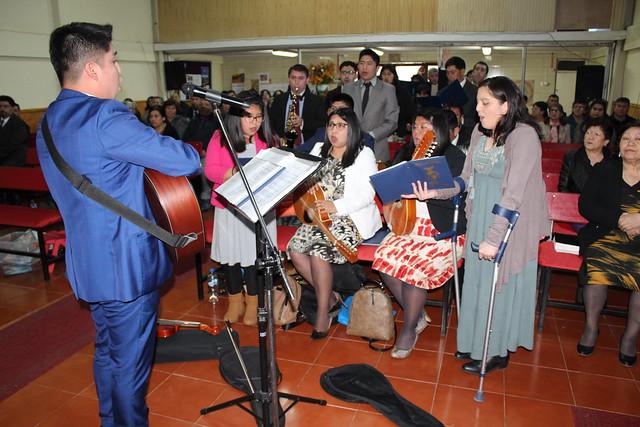 2° día de Culto en la IMPCH Penco – IMPCH Cunco