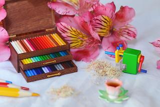 Three-Layer Artist Luxury Pencil Box_c