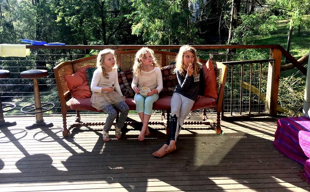 Lucinda, Olivia and DB.