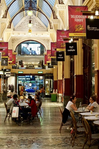 Block Arcade diners, Melbourne | by Joe Lewit