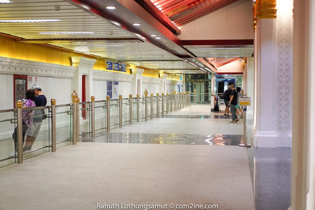 Decoration MRT สถานีสนามไชย - Sanam Chai Station