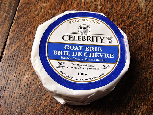 Celebrity Goat Brie