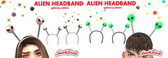 Junk Food - Alien Headbands ad
