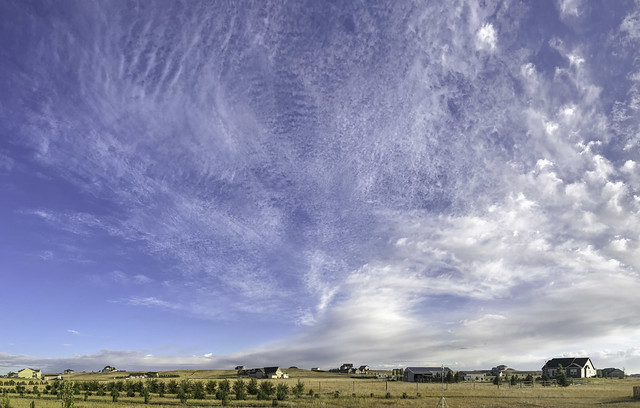 Cloudscape: Cirro- and Alto- Cumulus