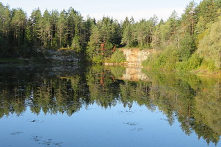 Vasalemma mõisa plokikivikarjäär / Dimension stone quarry in Vasalemma, Estonia