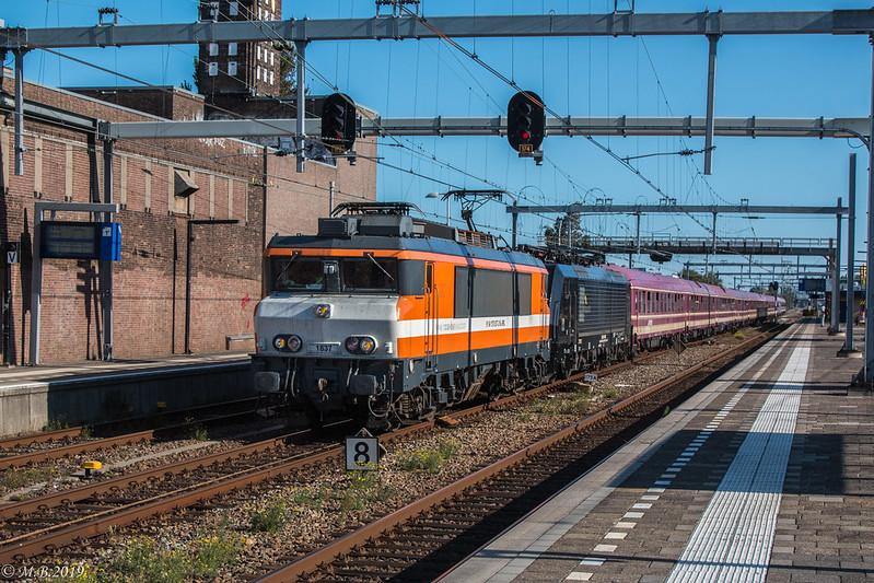 RFO 1837 + Br 189 095 | Rail2U Erlebnis Tanzzug 13488 | Uitgeest