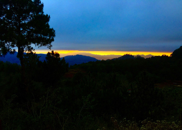 Sunset_Lake Danum