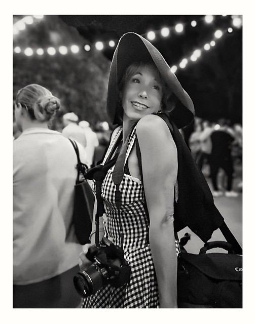 La photographe.