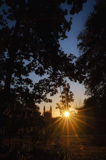 Sunrise in Cambridge 21 September 2019