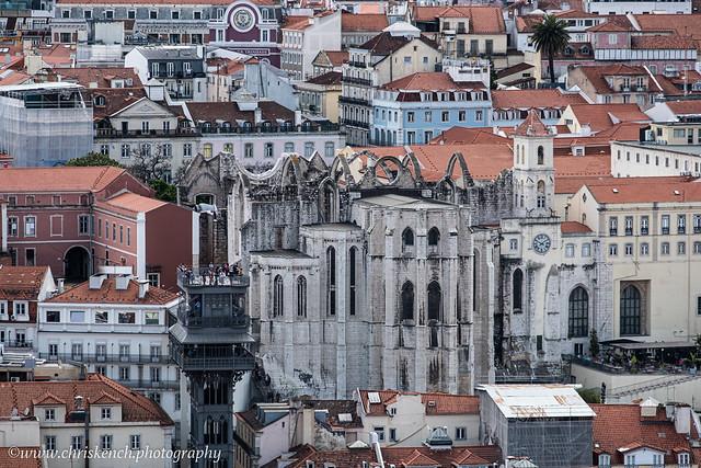 Convento do Carmo & Elevador de Santa Justa
