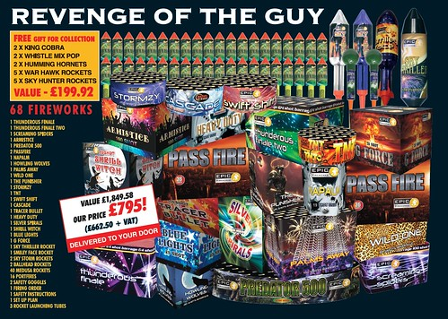 NEW FOR 2019 Revenge Of The Guy Fireworks Pack