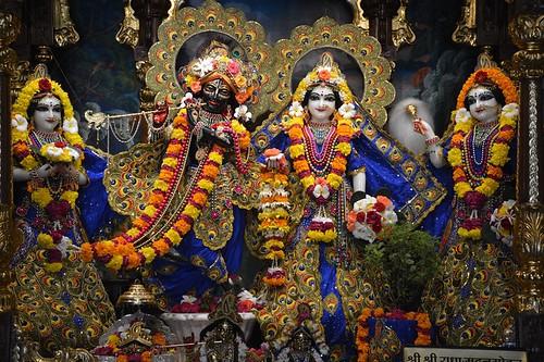 ISKCON Ujjain Deity Darshan 21 Sep 2019