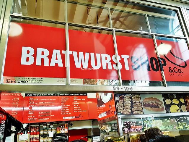 Bratwurst Shop & Co Facade