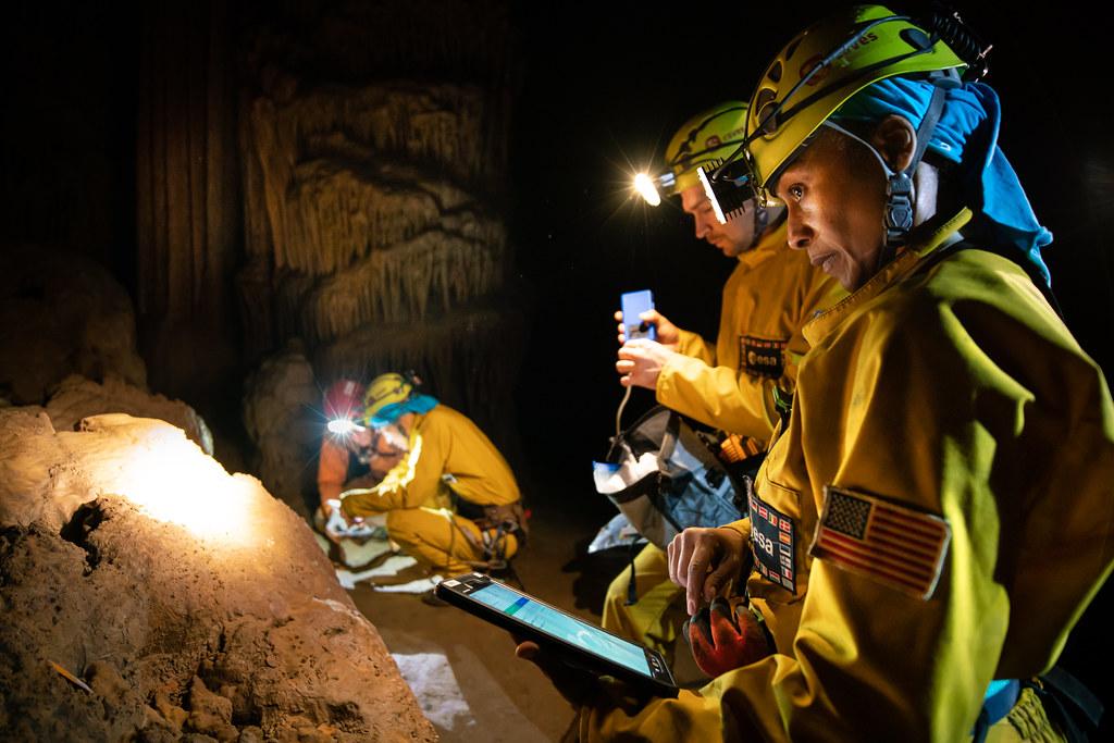 Cave measurements